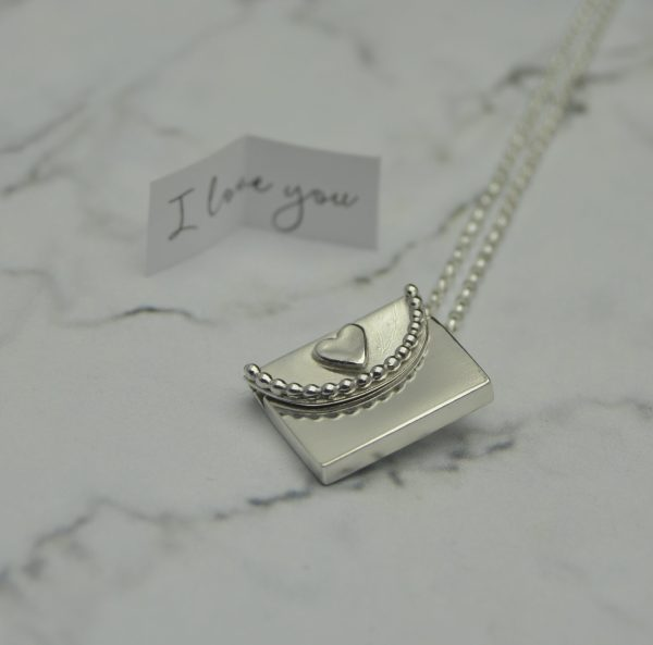 Handmade Silver Locket by Laura Llewellyn Design