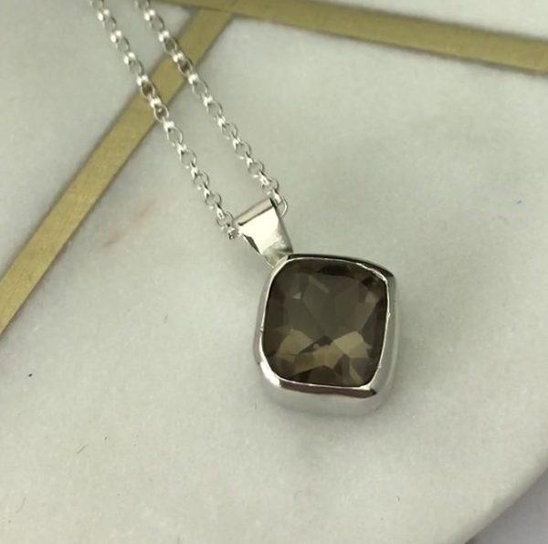 Smokey Quartz Gemstone Pendant