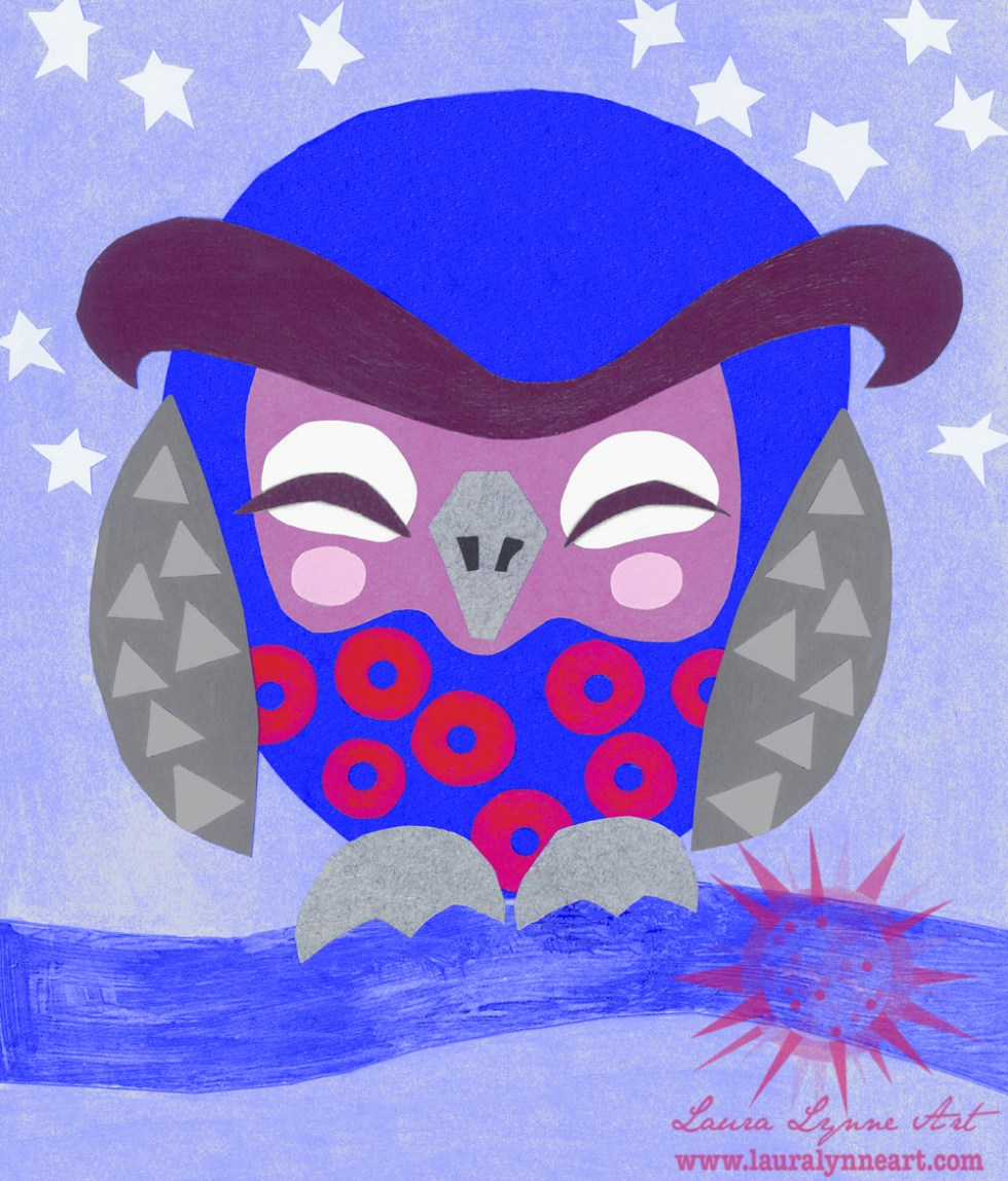 fishman-phish-themed-baby-owl-nursery-art-illustration