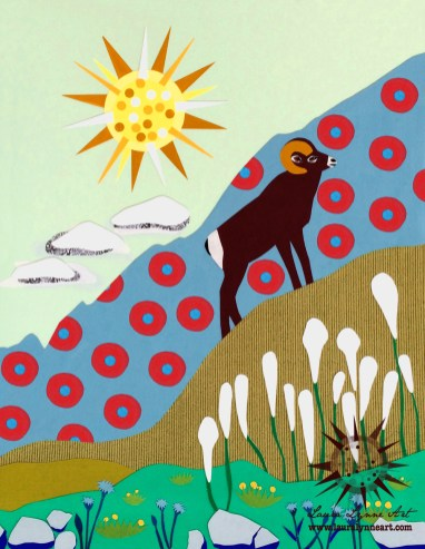 ram-with-fishman-donuts-in-mountains-with-sun-collage