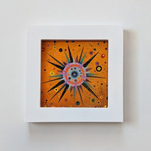 framed sun wall art