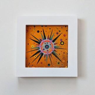 framed sun wall art