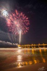 Fireworks off Pier (4 of 7) Watermark