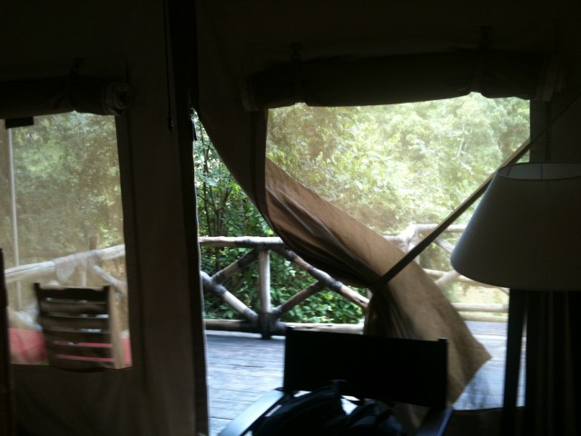 Our Tent at the Mara Safari Club