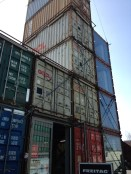 Love this store on the Zurich West Side created from shipping containers