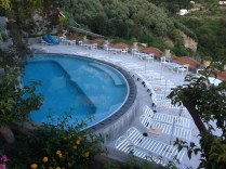 Cliff side pool at Il San Pietro
