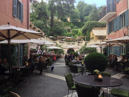 The Courtyard at Hotel de Russie