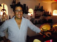 Gil checking out the Tequila and Botanas room at Maroma – a MUST DO when you are in the Riviera Maya!