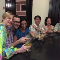 When in Rum....do as the Ruman! Last night in Old San Juan with special friends.
