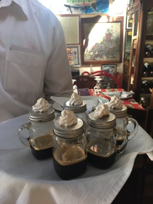 What a way to serve Cuban Coffees or Cortaditos as they are called once milk added