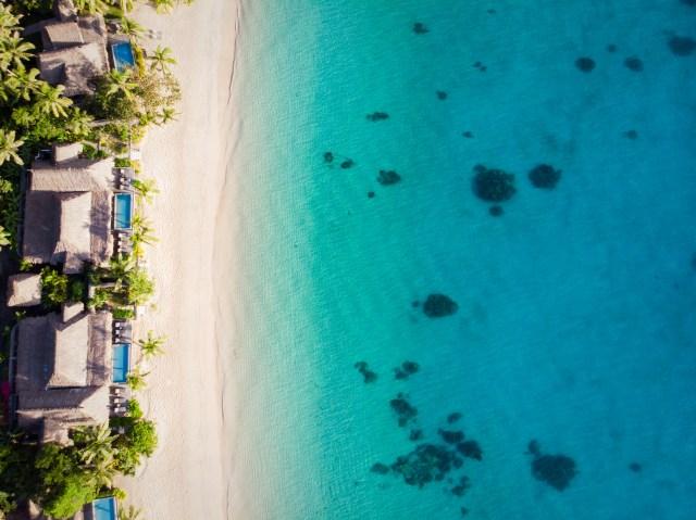 2. Beachfront Villa Aerial