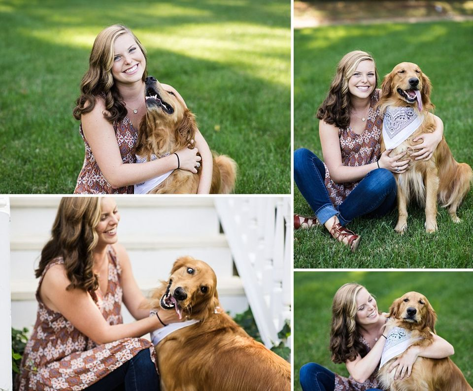 richmond, senior, glen allen, laura matthews, high school, ashland, walkerton, dog, golden retriever