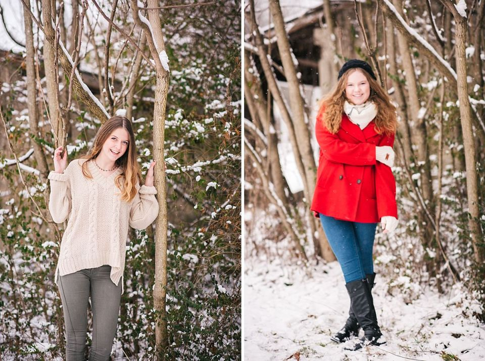 senior, glen allen, snow, laura matthews, richmond, photographer, photos, photography, winter