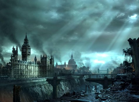 dystopic London