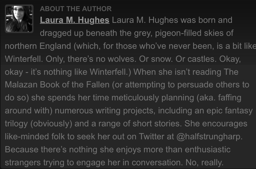 Fantasy-Faction Bio - Laura M Hughes