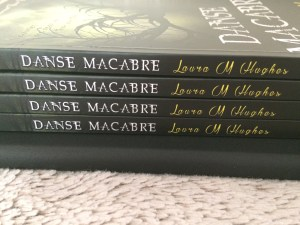 The first paperback copies of Danse Macabre!