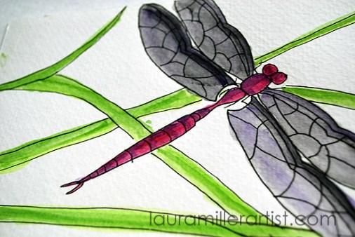 3dragonfly symbol laura miller artist