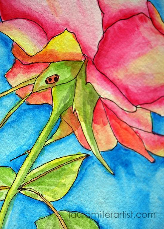 5 rose is a rose