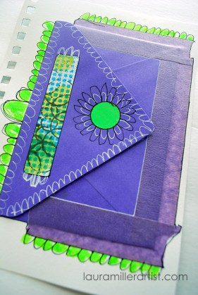 10artjournal pages aug