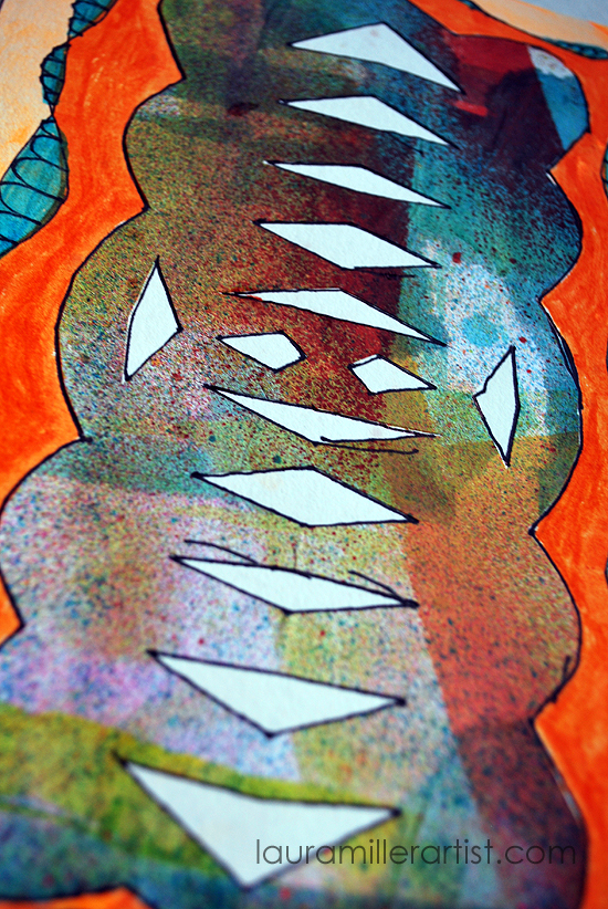 2wycinanki paper cut art journal