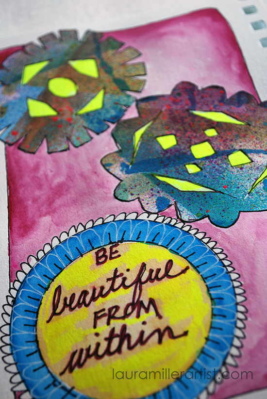 9wycinanki art journal words