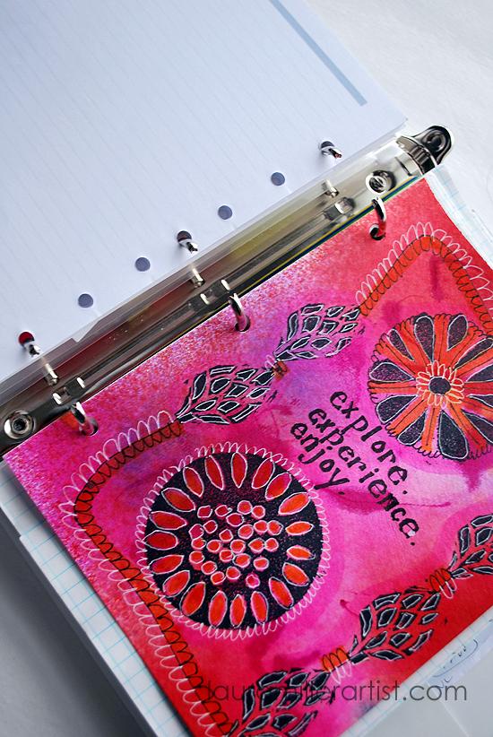 16planner calendar cover dividers