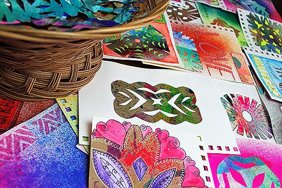 15art journal wycinanki laura miller artist