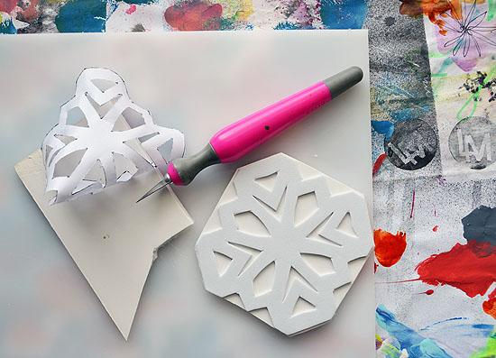 3foam stamps art journal laura miller