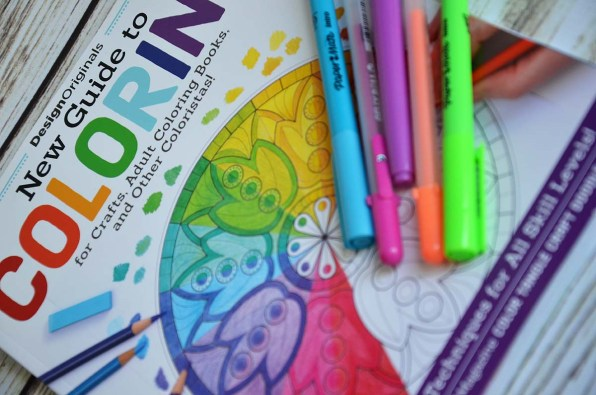 The book is perfect for the beginner to the experienced colorist. So much info!
