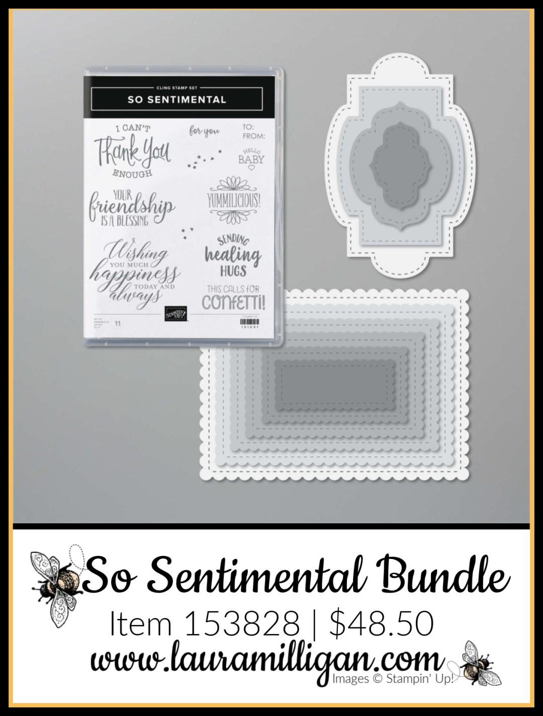 So Sentimental Bundle from Stampin' Up! Item 153828