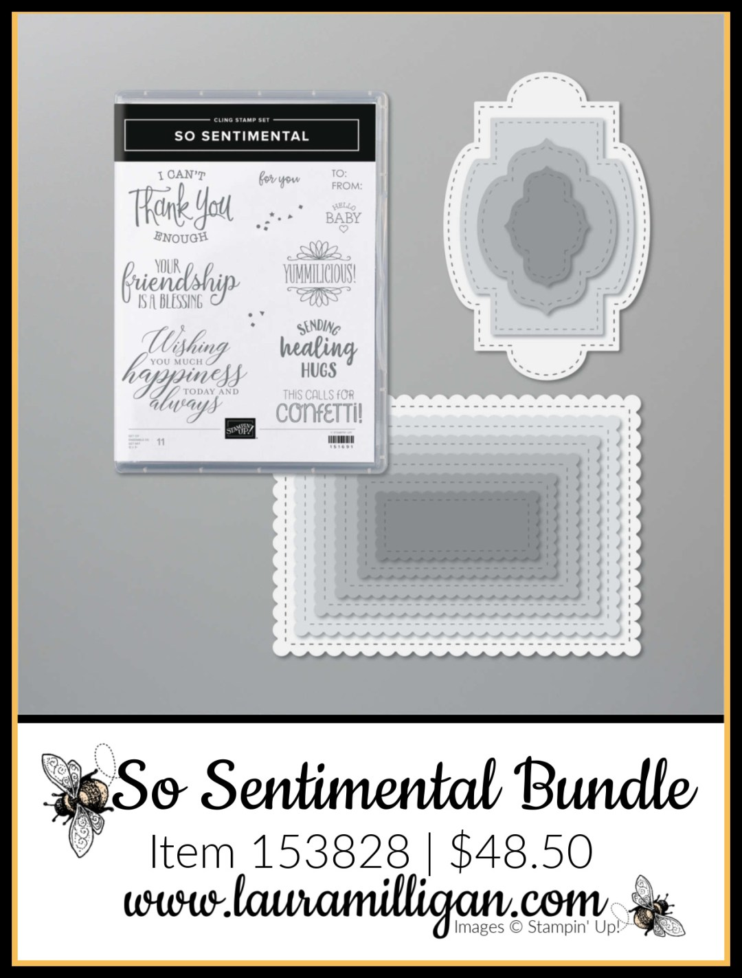 So Sentimental Bundle from Stampin' Up! Item 153828