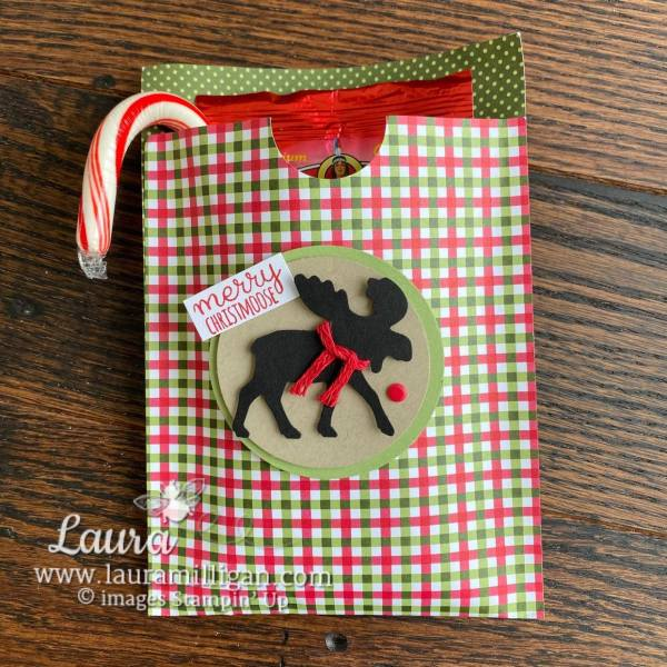Merry Moose Bundle DSP Gift Bag by Laura Milligan Single