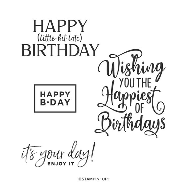 152539 Happiest of Birthdays Stamp Set by Stampin' Up!