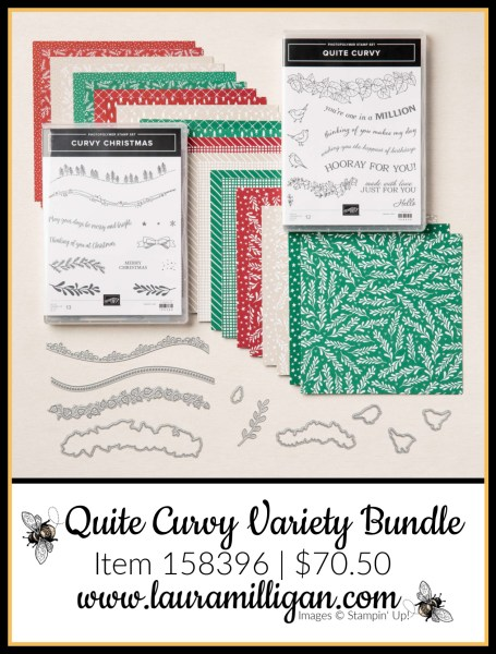 Quite Curvy Variety Bundle from Stampin' Up! Item 158396