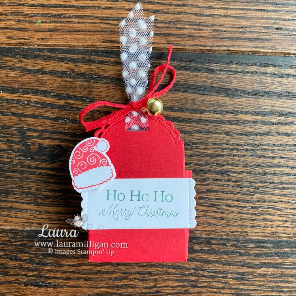Little Treats Box Christmas Favor by Laura Milligan