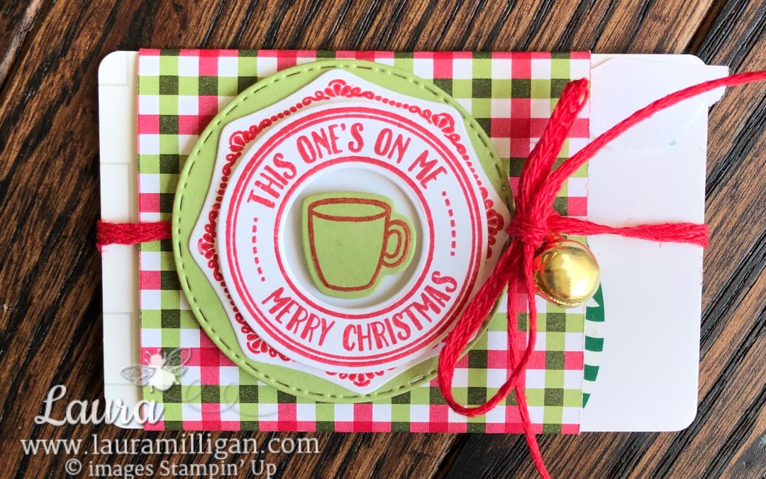 Stampin' Up! Heartwarming Hugs Gift Card Holder
