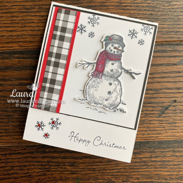 Snow Wonder Christmas Card by Laura Milligan