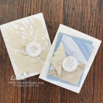 Sand and Sea Suite Card Duo Laura Milligan Stampin