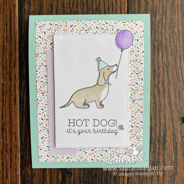 Hot Dog It's Your Birthday Card
