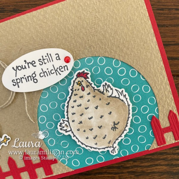 Hey Chick and Hey Birthday Chick Bundles from Stampin' Up! Cards by Laura Milligan, I'd Rather Bee Stampin'