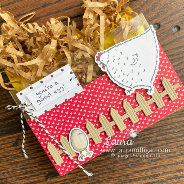 Hey Birthday Chick Bundle by Stampin' Up! Gift Packaging by Laura Milligan, Shop Online