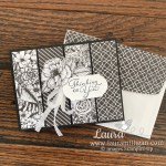 Thinking of You Card by Laura Milligan using the True Love Designer Series Paper from Stampin