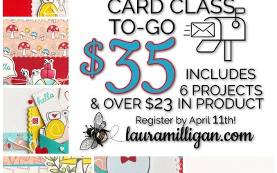Card Class to Go Snail Mail