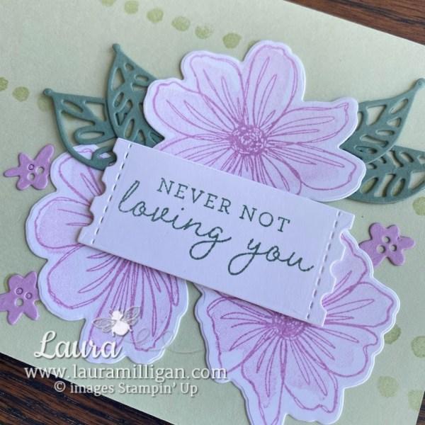 Art in Bloom handstamped card Bundle by Laura Milligan Stampin' Up! FreeBEES