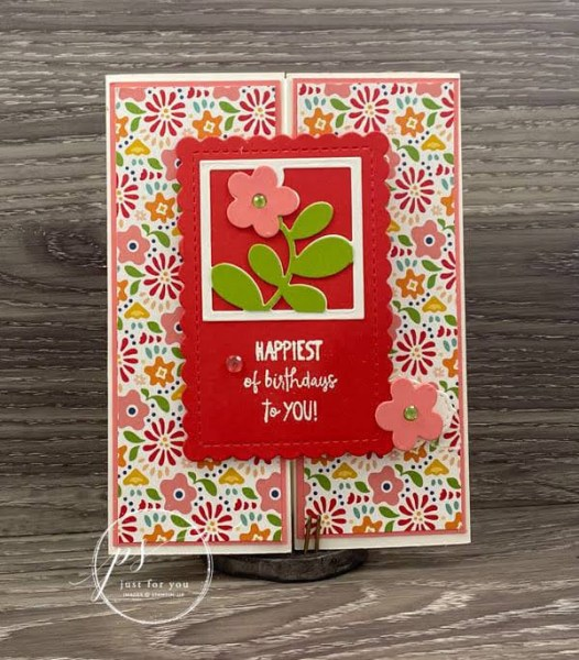 all squared away project sheet Laura Milligan Stampin' Up! demonstrator - Earn Free Product