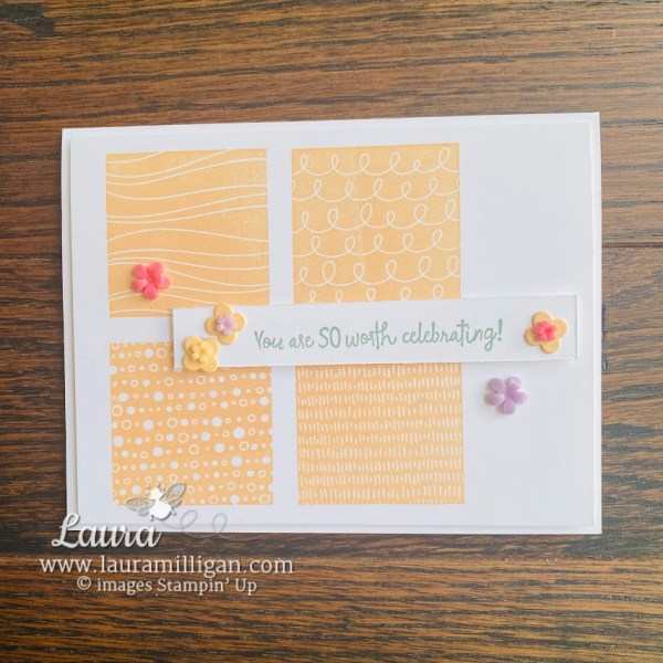 all squared away bundle Stampin' Up! Laura Milligan earn free products