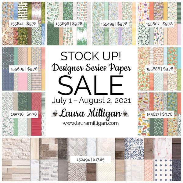 Designer Series Paper Sale - Stampin' Up!