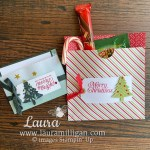 Laura Milligan Cocoa Gift Bag and Gift Card Pocket Holder Facebook Live Creations July 26 2021