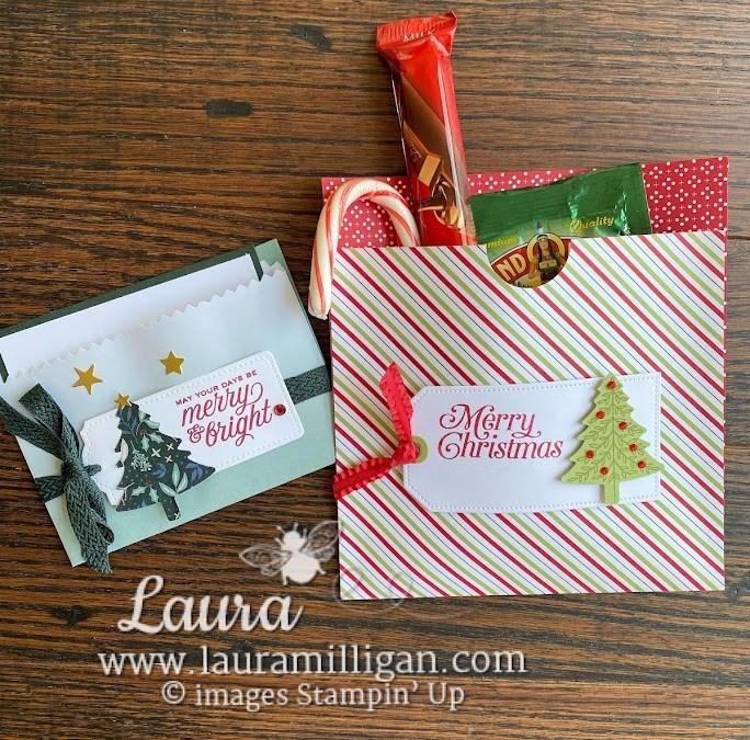 Tidings of Christmas – Gift Card Pocket & Cocoa Gift Bag