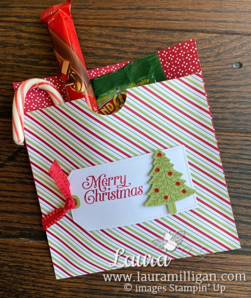 Laura Milligan - Cocoa Holder Christmas Gift Bags. Earn Free Bees with Purchase